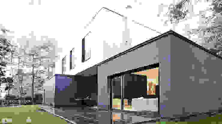 Дома в стиле модерн от zwA Architekci Модерн