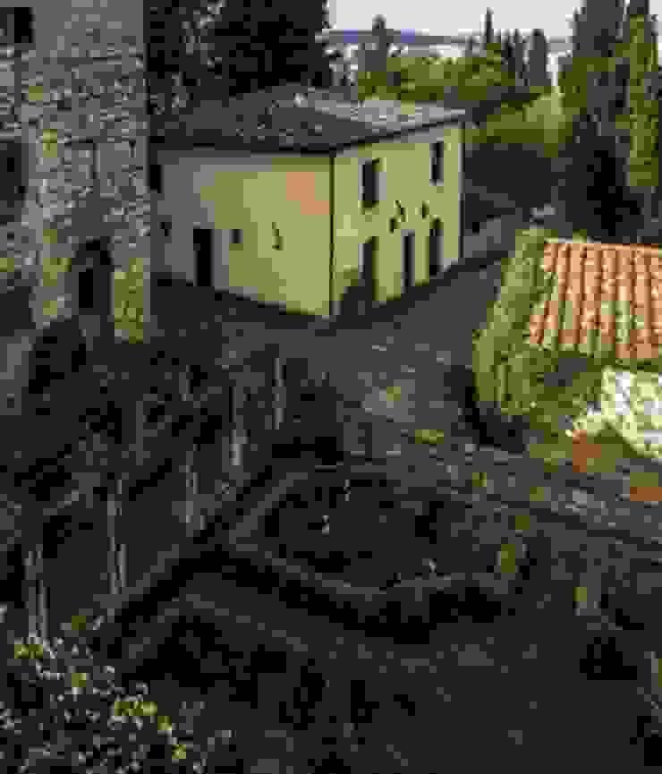 지중해스타일 정원 by Studio Mazzei Architetti 지중해