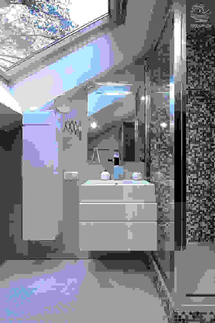 ZROBYM architects Minimalist style bathroom