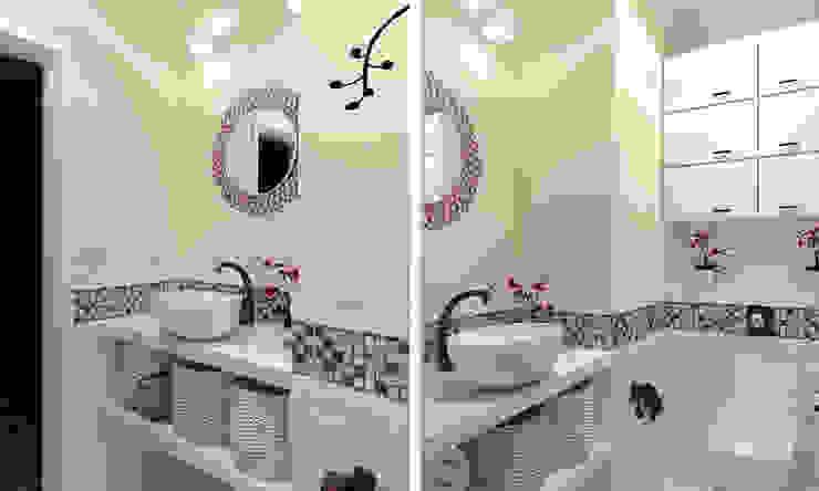 """Дизайн-проект """"Современная классика"""" Ванная в классическом стиле от Дизайн-студия HOLZLAB Классический"""