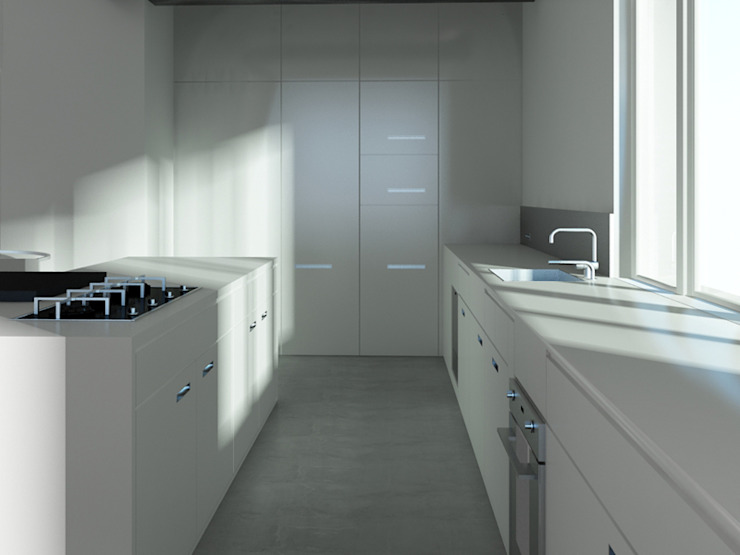 Loft L 01 Cuisine moderne par Deux et un Moderne