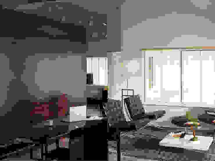 Loft L 01 Salon moderne par Deux et un Moderne