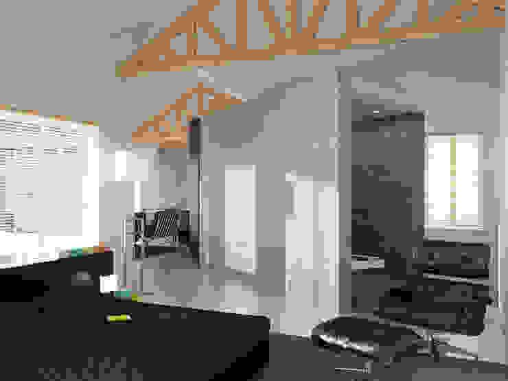 Loft L 01 Chambre moderne par Deux et un Moderne