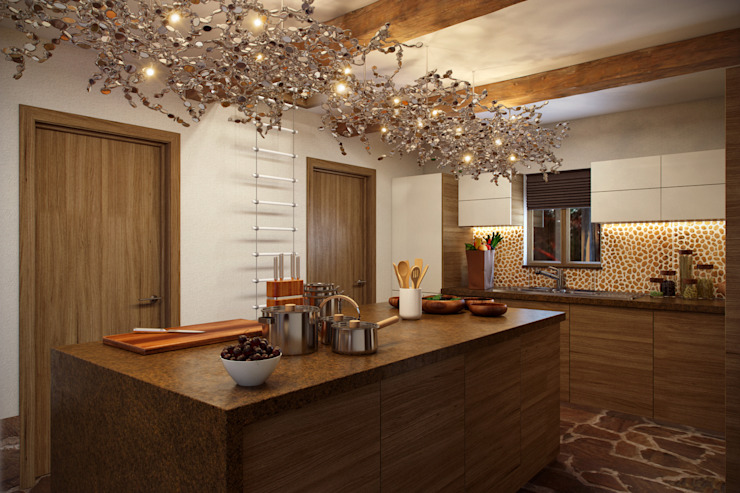 В лесу Кухни в эклектичном стиле от Rasskazova Maria Эклектичный