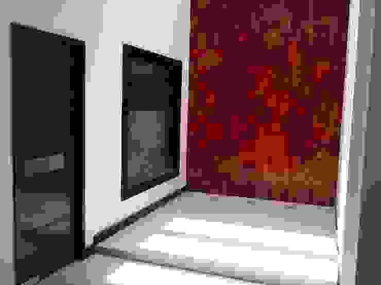casa 319 Pasillos, vestíbulos y escaleras modernos de Hussein Garzon arquitectura Moderno Vidrio