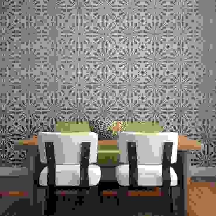 Moroccan inspired lattice wall stencils Stencil Up Walls & flooringWall & floor coverings