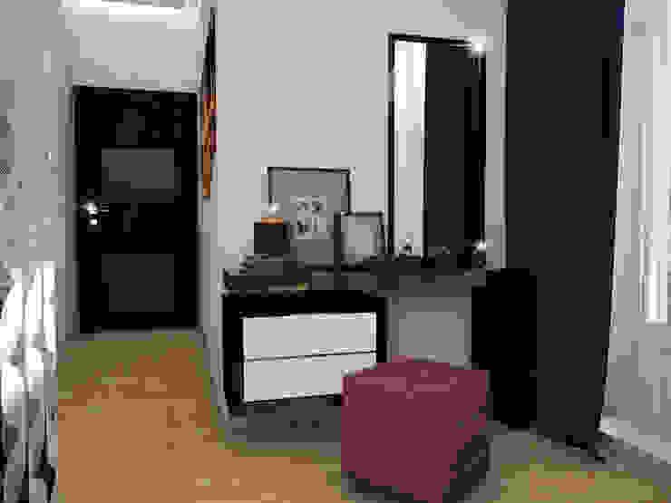 Спальня - Вариант 2 Спальня в эклектичном стиле от ПРОЕКТНАЯ СТУДИЯ Ирины Щуровой ДОМ Эклектичный