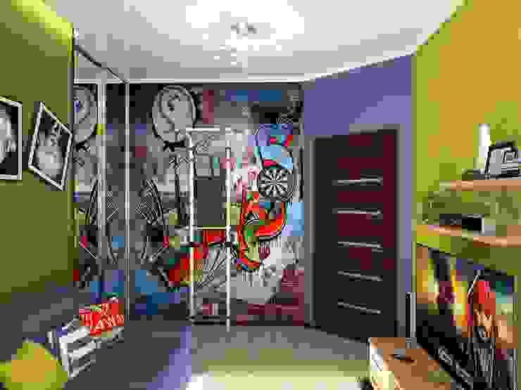 Детская для школьника Детские комната в эклектичном стиле от ПРОЕКТНАЯ СТУДИЯ Ирины Щуровой ДОМ Эклектичный