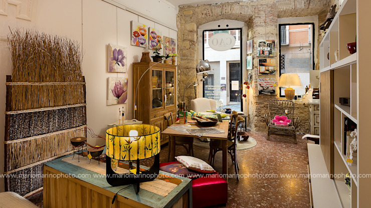 Mario Marino Rustic style offices & stores