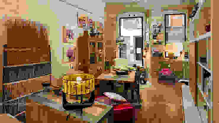 Commercial Design Mario Marino Negozi & Locali commerciali in stile rustico