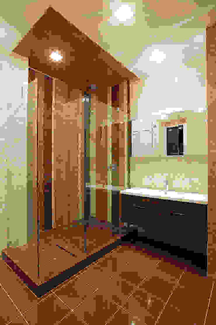 Кутузовская ривьера Ванная комната в стиле минимализм от DECORA Минимализм