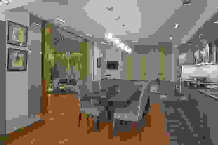 Квартира 84 кв.м Столовая комната в эклектичном стиле от DECORA Эклектичный