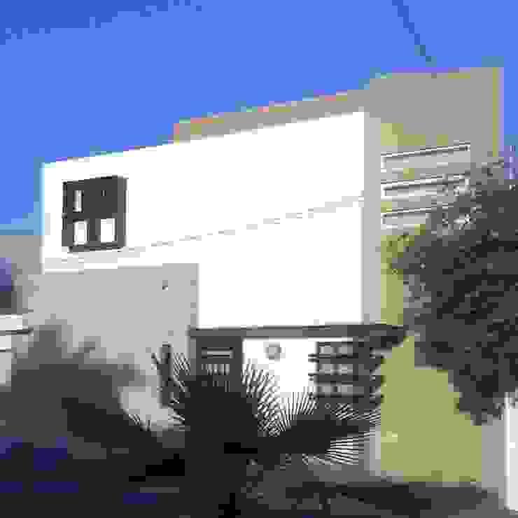 casa 1050 Casas modernas de Hussein Garzon arquitectura Moderno Piedra