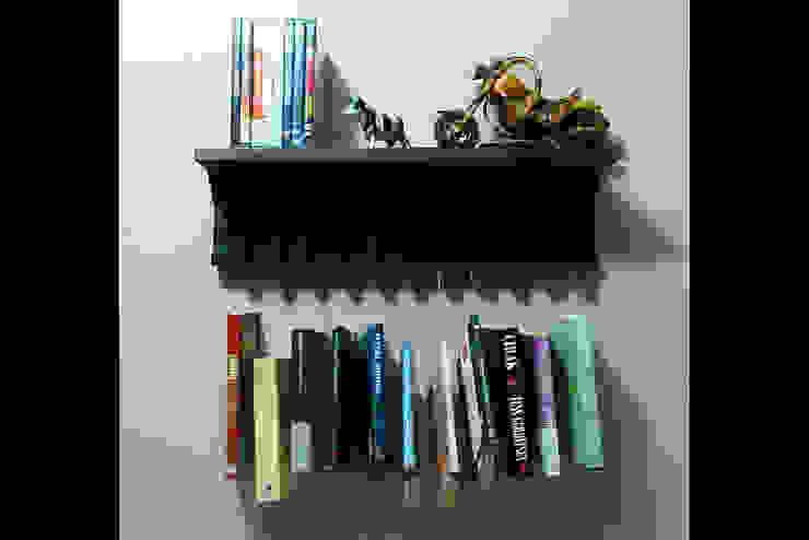Yaratıcı Kitaplık Pons Home Design Rustik
