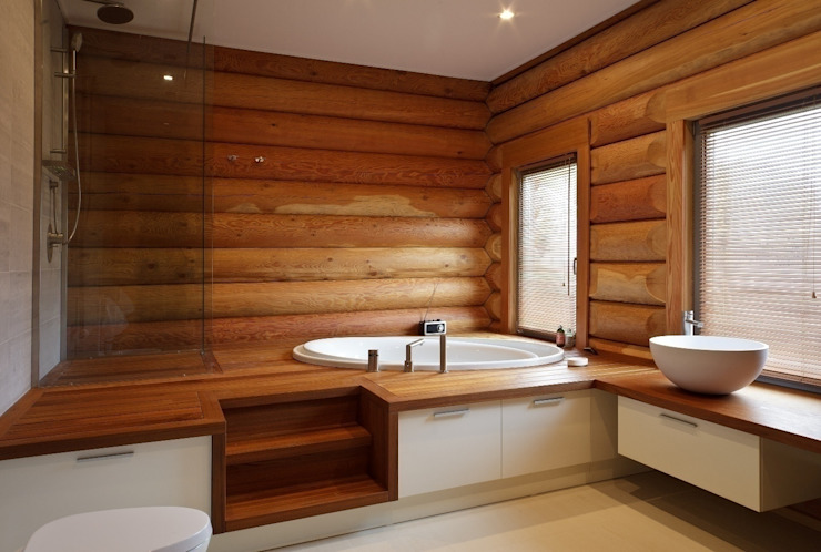Eclectic style bathroom by LOFTING Eclectic