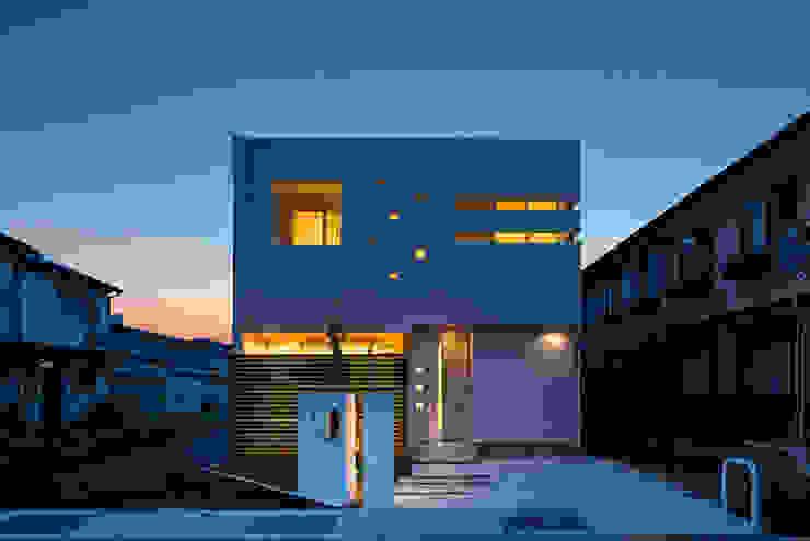 『ソラ庭のある家』 モダンな 家 の 納得住宅南大阪 モダン