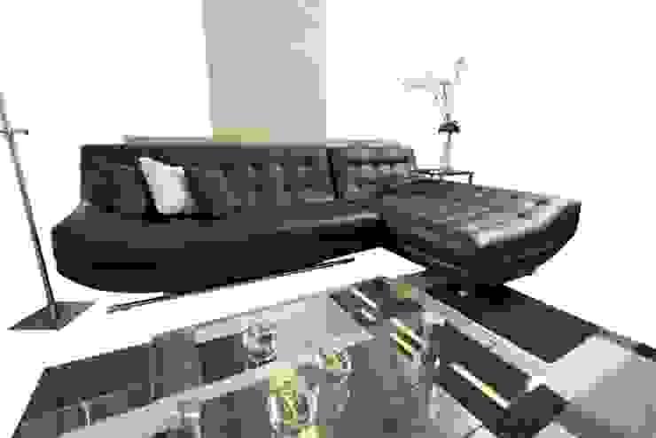 modern  by kari.garcia.74, Modern Fake Leather Metallic/Silver