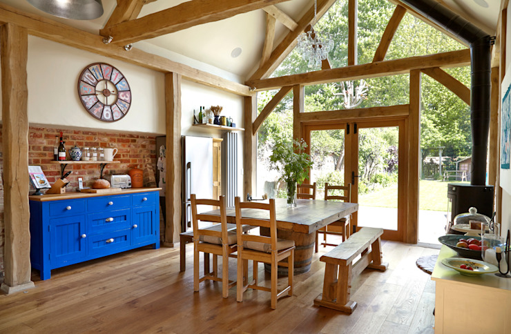 Aldbourne Milton Architects Ltd Кухня в классическом стиле