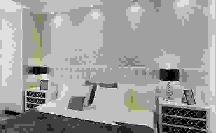 Diseno Papel Tapiz Salones modernos de Crea Decoración Moderno