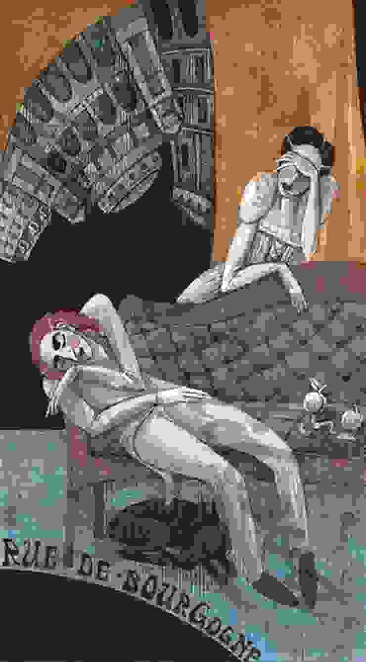 Сцены из жизни богемы от Dariya Dranishnikova Эклектичный