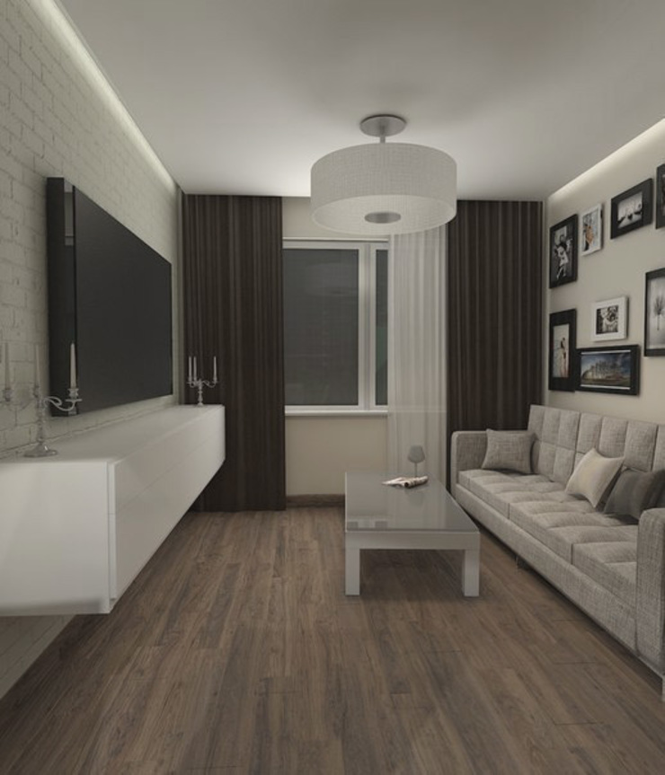 Minimalist living room by Pure Design Minimalist