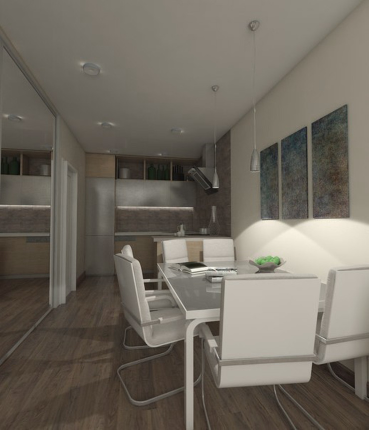 Minimalist kitchen by Pure Design Minimalist
