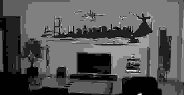 İstanbul Duvar Sticker trend duvar sticker Ev İçiAksesuarlar & Dekorasyon