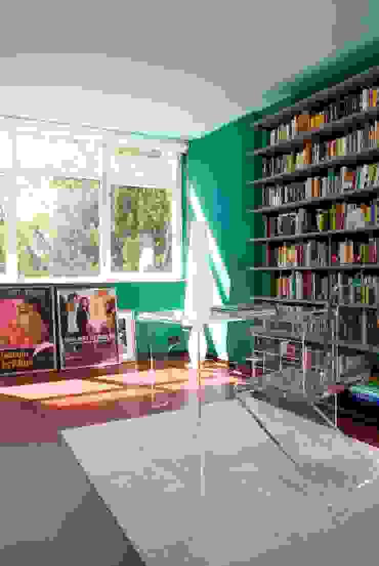 Gisbert Pöppler Architektur Interieur Ruang Studi/Kantor Modern