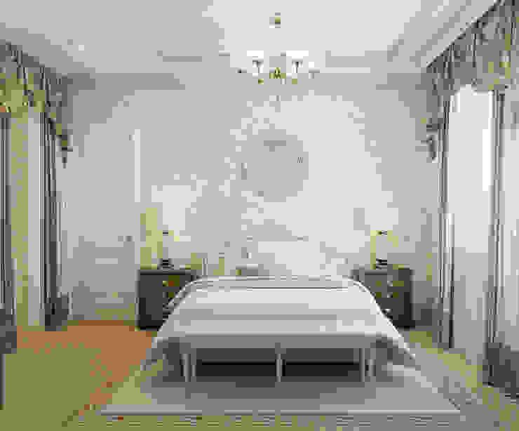 Спальная комната Спальня в классическом стиле от Студия Искандарова Классический