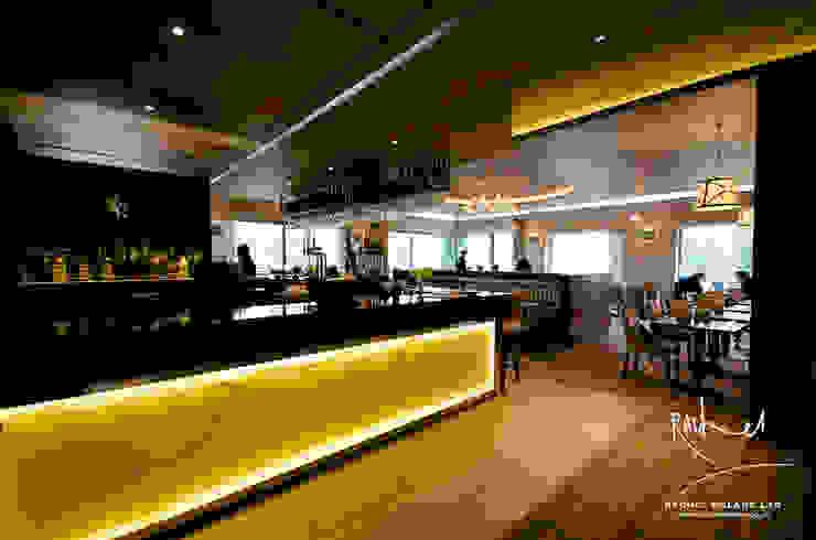 No. 19 Close House Golf Club Bar & Club in stile classico di Rachel McLane Ltd Classico
