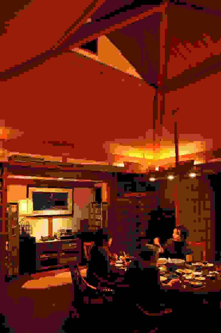 過ごしやすい空間 オリジナルデザインの ダイニング の 株式会社一級建築士事務所ジオプラス オリジナル
