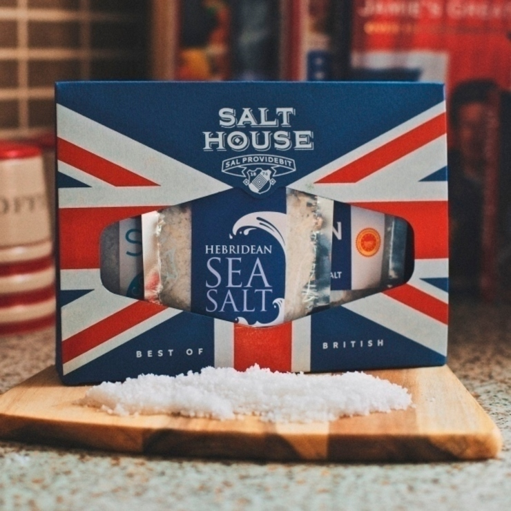 Salthouse British Collection Box - with Cornish Sea Salt от Salthouse & Peppermongers Лофт