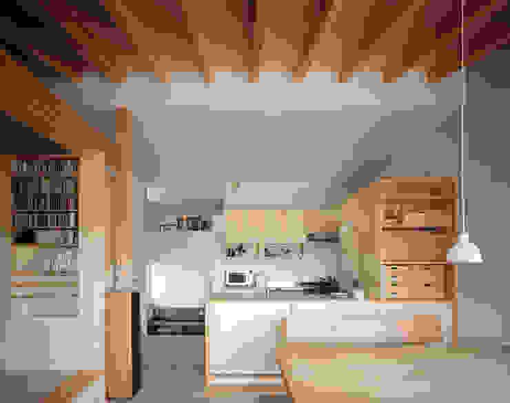 Hidamariハウス: しまだ設計室が手掛けたキッチンです。,オリジナル