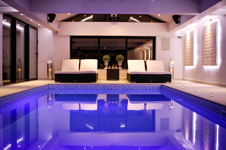 Pool House by Leighton Home Style Modern