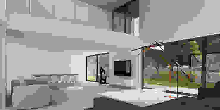 Modern Living Room by D C K Modern