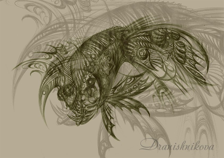 Рыба от Dariya Dranishnikova Эклектичный