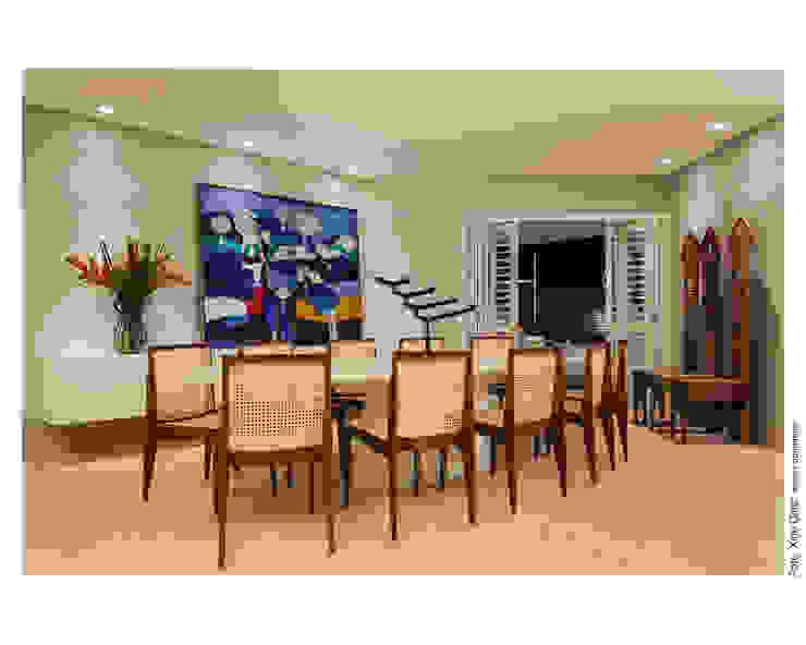 Sala de Jantar Salas de jantar ecléticas por Arquitetura 3 Eclético