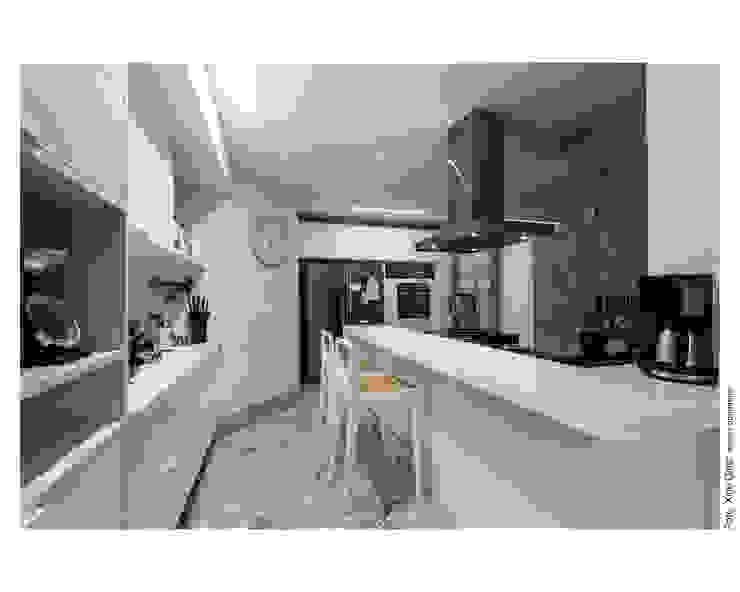 Copa / Cozinha Cozinhas ecléticas por Arquitetura 3 Eclético
