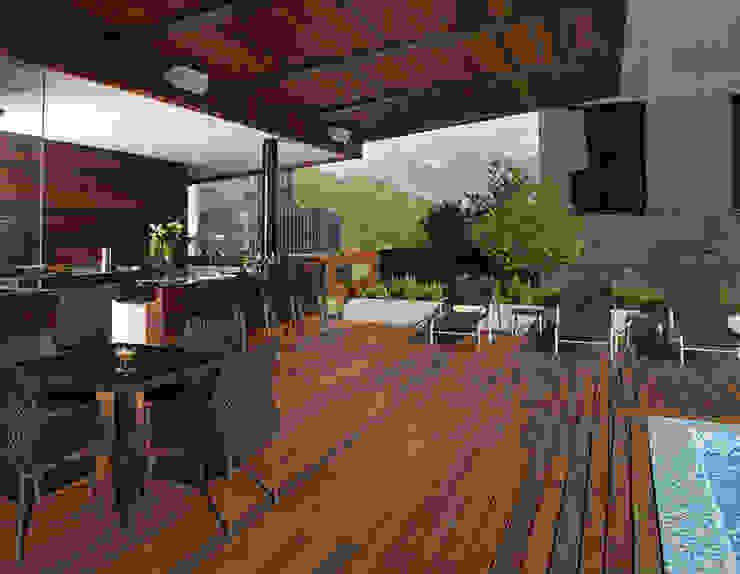 Moderner Balkon, Veranda & Terrasse von GLR Arquitectos Modern