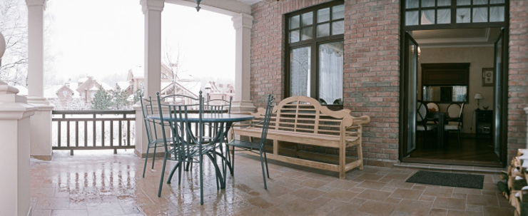 Фото обложки Балкон и терраса в классическом стиле от СТУДИЯ'КЛИКО' Классический