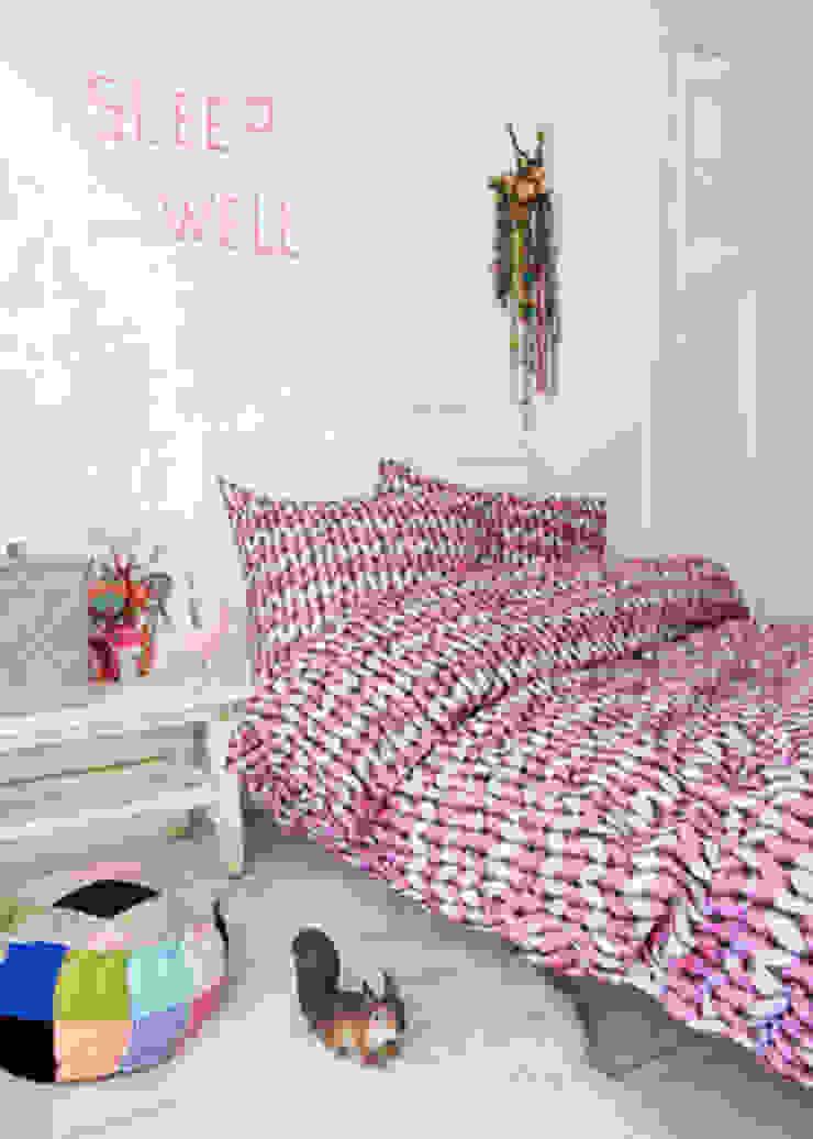 dekbedovertrek Woolly pink van Boefjesfabriek Landelijk