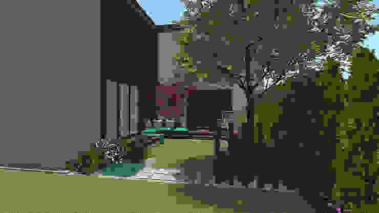 modern  by Rock&Flower studio. Pracownia architektury krajobrazu., Modern