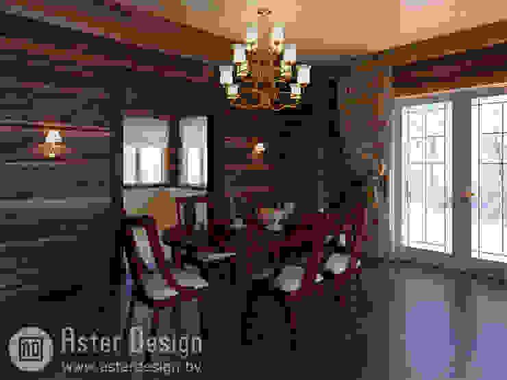 Уютная столовая.: Столовые комнаты в . Автор – ASTER DECO,
