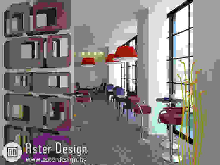 Вход в кафе Гостиные в эклектичном стиле от ASTER DECO Эклектичный