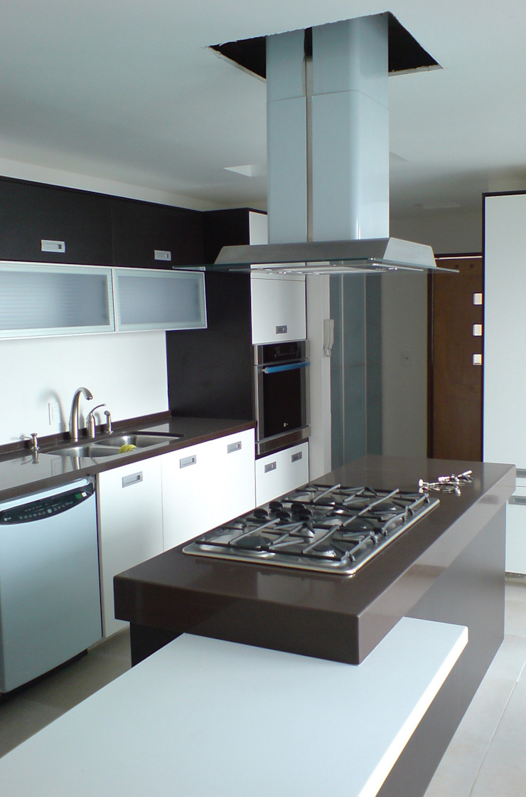 Casa Pedrregal Cocinas modernas de Visual Concept / Arquitectura y diseño Moderno