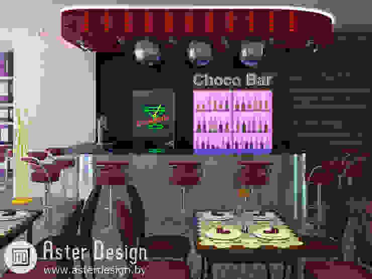 Choco Bar Кухни в эклектичном стиле от ASTER DECO Эклектичный