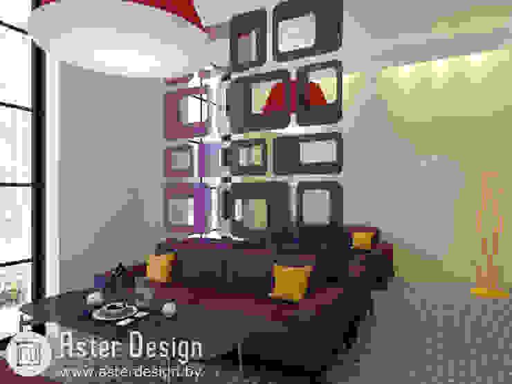 VIP зал Гостиные в эклектичном стиле от ASTER DECO Эклектичный