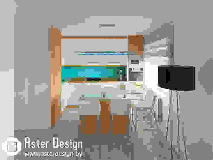 Интерьер в стиле Арт-Деко Кухни в эклектичном стиле от ASTER DECO Эклектичный