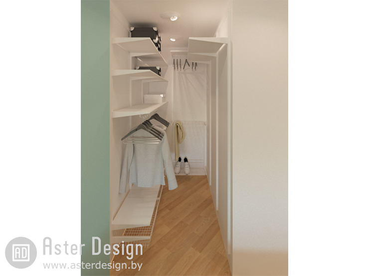 Eclectic style dressing room by ASTER DECO Eclectic