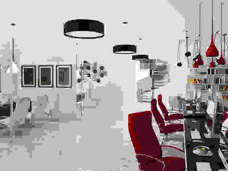 Kantor & Toko Minimalis Oleh Space - студия дизайна интерьера премиум класса Minimalis